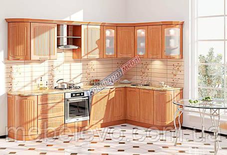 Комфорт Сопрано кухня КХ-285 ольха 3.1 х 1.7 м , фото 2