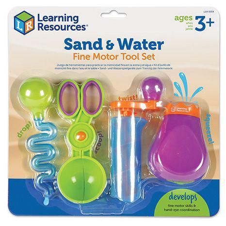 """НОВИНКА! Набор инструментов """"Маленькие ручки"""" для игр с водой и песком от Learning Resources"""