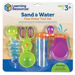 """НОВИНКА! Набір інструментів """"Маленькі ручки"""" для ігор з водою та піском від Learning Resources"""