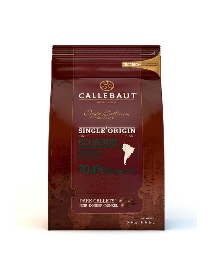 Моносортовий шоколад Origine Callebaut Ecuador / Каллебаут Еквадор, 2,5 кг