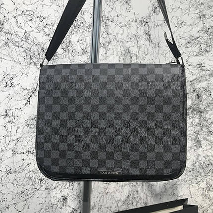 Messenger Louis Vuitton District MM Damier Graphite, фото 2