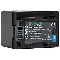 Аккумулятор к фото/видео PowerPlant Canon BP-727 chip (DV00DV1386)