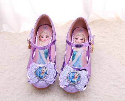 Туфельки открытые с бантом Сказка