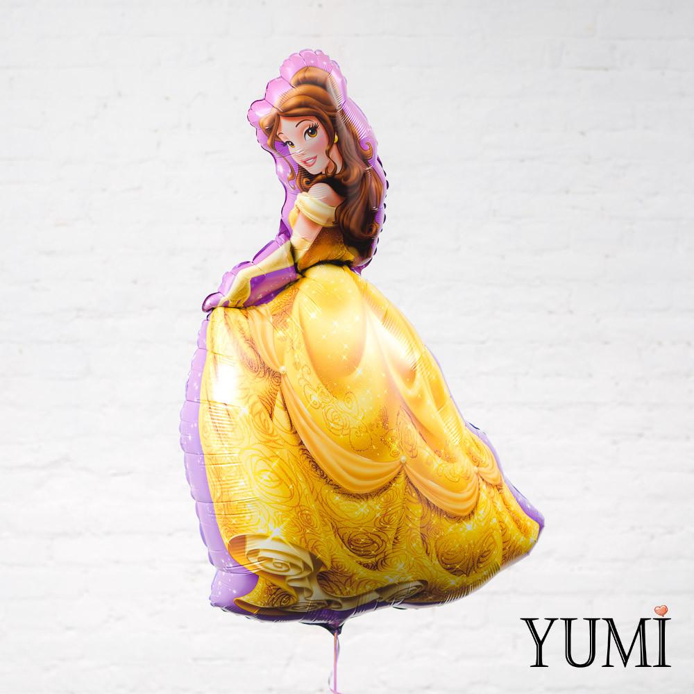 Фольгированный шар принцесса Белль Красавица и Чудовище