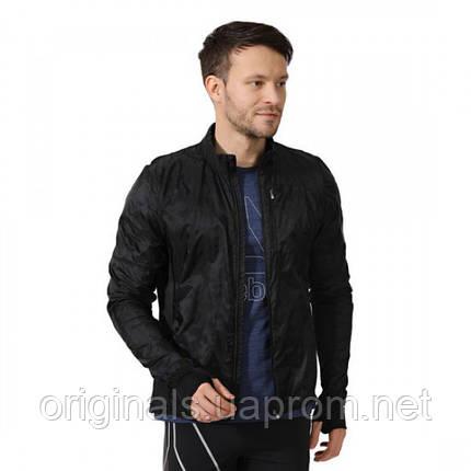 989fbaea60d1 Легкая спортивная куртка для бега Рибок мужская Hexawarm Running CZ6233,  фото 2