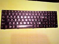Клавиатура покнопочно для ноутбука Lenovo Ideapad G570, G575, G770, G780, Z560, Z565.