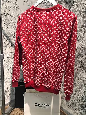 Sweatshirt Supreme Monogram Red, фото 2