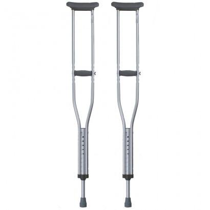 Подмышечные алюминиевые костыли (пара) 112-132 см OSD-BL570200