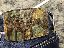 Jeans Dsquared2 Military Blue, фото 2