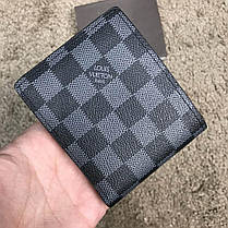 Louis Vuitton Slender Wallet Damier Cobalt LV Cup Red, фото 3