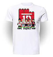 Футболка GeekLand Ван Дирекшен One Direction Lego One Direction OD.01.003