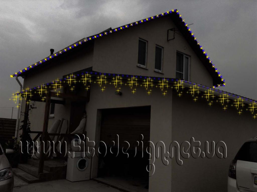 светодиодный мини занавес гирлянда светодиодная 20 м. купить Киев