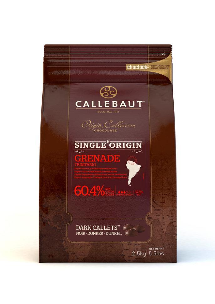 Шоколад Callebaut Grenada Origine 60% / Каллебаут Гренада, 2,5 кг