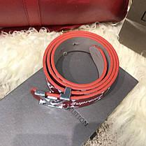 Belt Louis Vuitton x Supreme Printed Monogram Red, фото 3
