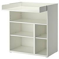 IKEA STUVA Пеленальный стол / письменный стол, белый  (202.253.34)