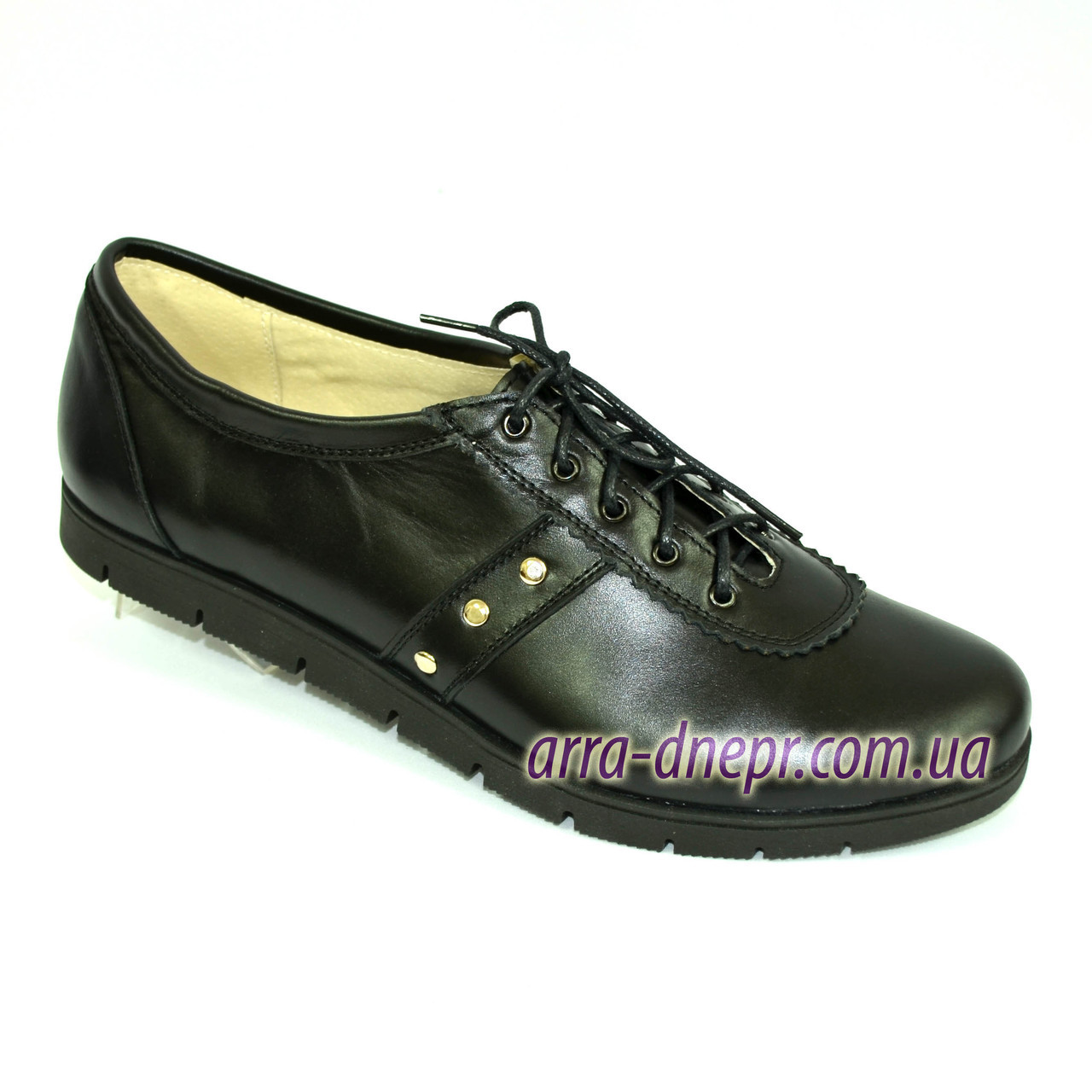 """Женские кожаные туфли на низком ходу. ТМ """"Maestro"""""""
