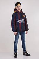 Куртка с капюшоном FC Barcelona, р 152,158,164,170
