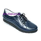 """Туфли женские кожаные на шнуровке. ТМ """"Maestro"""", фото 2"""