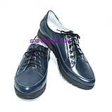 """Туфли женские кожаные на шнуровке. ТМ """"Maestro"""", фото 4"""
