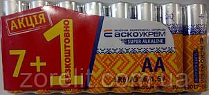 Батарейка Аско LR6 (7+1шт)