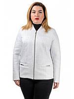 Стеганная куртка-пиджак