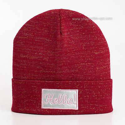 Красная шапка Хеллоу для девочек