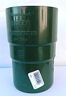 Водосточная система Bryza (Бриза)  МУФТА ТРУБЫ Bryza 90 мм  ( цвет Зеленый )