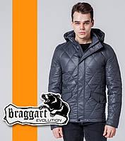 Модная мужская куртка Braggart Evolution - 1489 темно-серый