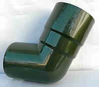 Водосточная система Bryza (Бриза) КОЛЕНО 90 мм  ( цвет Зеленый )