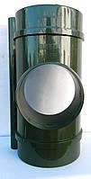 Водосточная система Bryza (Бриза) 125 мм ВОРОНКА СЛИВНАЯ 125/90 мм  ( цвет Зеленый )