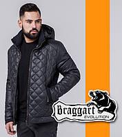 Модная куртка весенняя Braggart Evolution - 1652 графит
