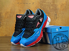 Мужские кроссовки Adidas x Raf Simons Consortium Ozweego 2 Black/Red/Lucola Multi B24072, фото 2