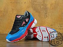 Мужские кроссовки Adidas x Raf Simons Consortium Ozweego 2 Black/Red/Lucola Multi B24072, фото 3