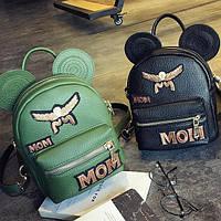 Модный мини рюкзак с ушками, фото 1