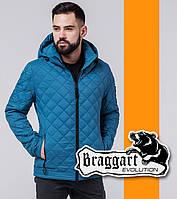 Куртка демисезонная модная Braggart Evolution - 1358 бирюза