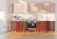 Комфорт Сопрано кухня КХ-294 кальвадос + груша кофейная глянец 3.25 м