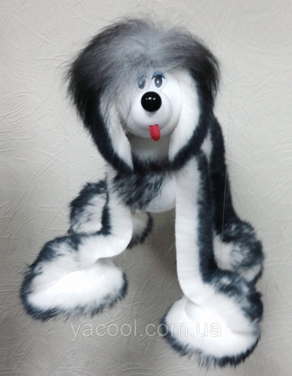 c9b5bcef591 Собака живая игрушка на ниточках