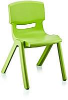 Стул детский пластиковый Jumbo No: 2 зеленый (Papatya-TM)