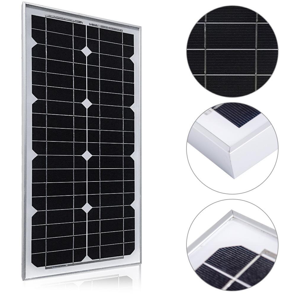 Солнечная батарея Altek ALM-30M, 30 Вт (монокристалл)