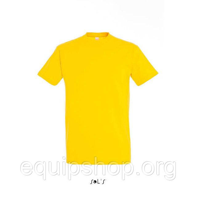 Футболка мужская с круглым воротом SOL'S IMPERIAL-11500  Жёлтая, xxxl