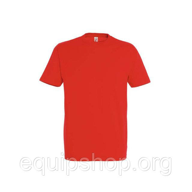 Футболка мужская с круглым воротом SOL'S IMPERIAL-11500  Красная, l