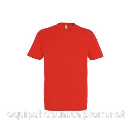 Футболка мужская с круглым воротом SOL'S IMPERIAL-11500  Красная, l, фото 2