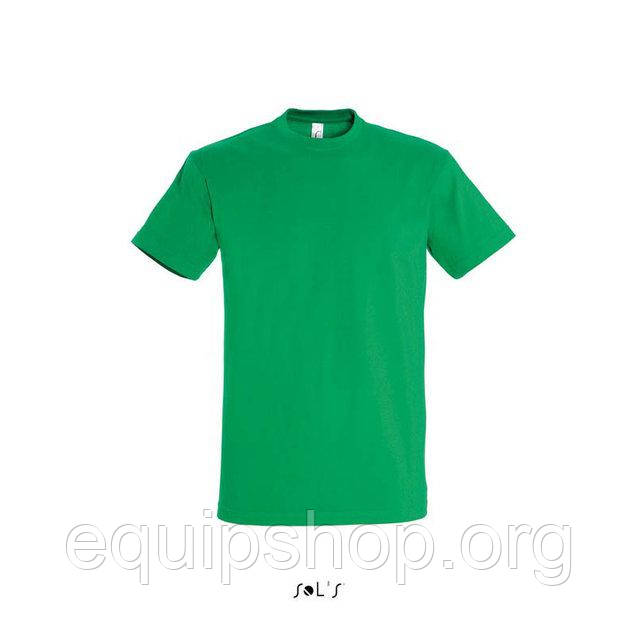 Футболка мужская с круглым воротом SOL'S IMPERIAL-11500  Зелёная, xxxl