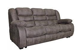Шкіряний диван реклайнер Манхеттен, диван реклайнер, м'який диван, меблі з шкіри, диван, розкладний диван