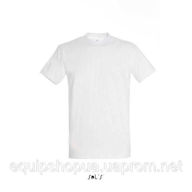 Футболка мужская с круглым воротом SOL'S IMPERIAL-11500  Белая, s