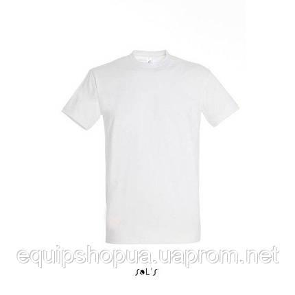 Футболка мужская с круглым воротом SOL'S IMPERIAL-11500  Белая, xl, фото 2