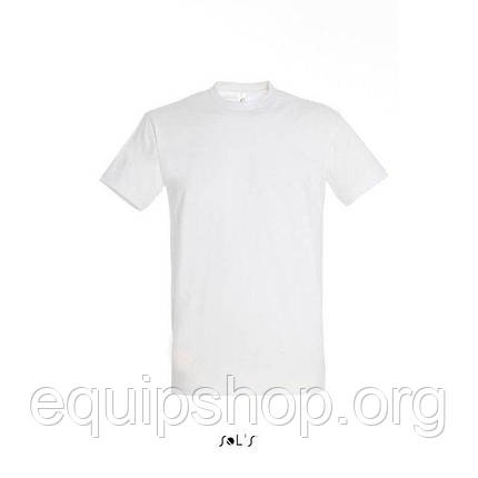 Футболка мужская с круглым воротом SOL'S IMPERIAL-11500  Белая, xxl, фото 2