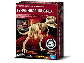Дет/лаб. Скелет Тринозавр Рекс. Раскопки. /6/