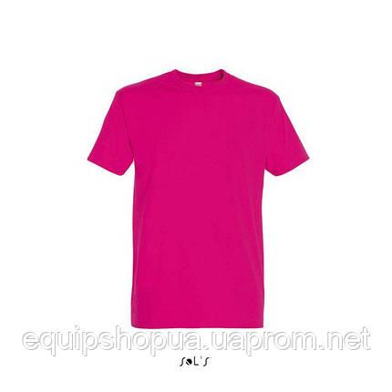 Футболка мужская с круглым воротом SOL'S IMPERIAL-11500  Розовая, s, фото 2