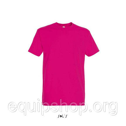 Футболка мужская с круглым воротом SOL'S IMPERIAL-11500  Розовая, xl, фото 2